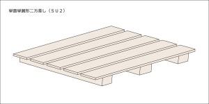 単面単翼形二方差し(SU2)