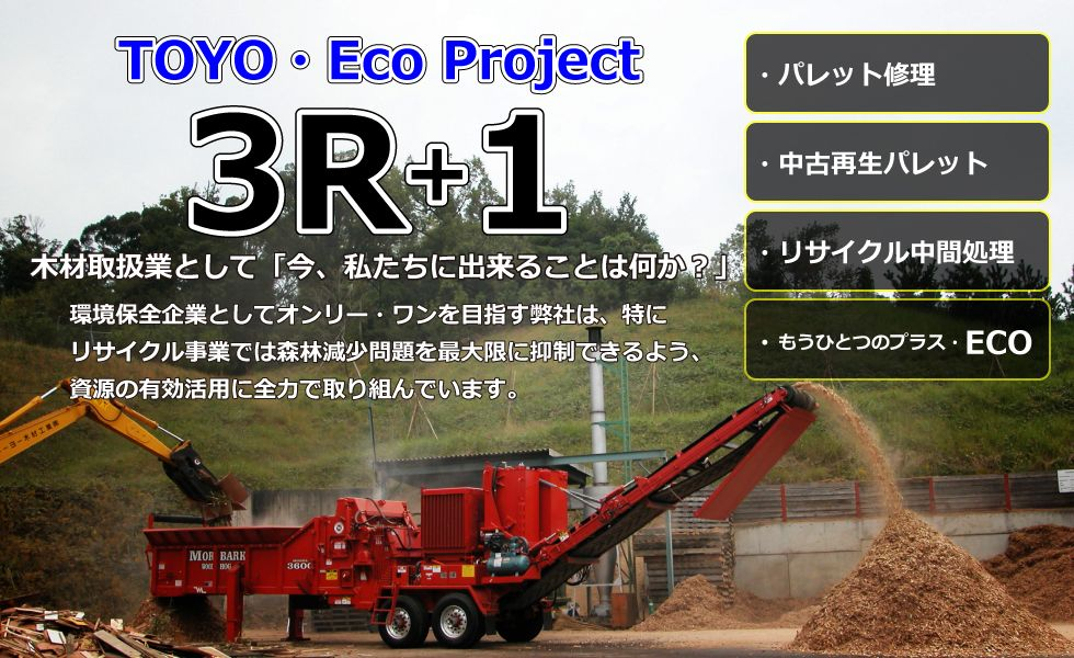 TOYO Eco Project 3R+1